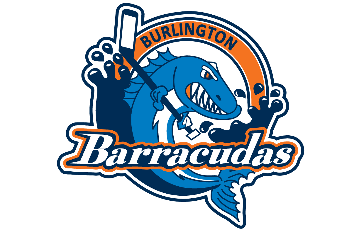 BURLINGTON BARRACUDAS OFFICIAL GEAR